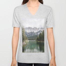 Looks like Canada - landscape photography Unisex V-Neck