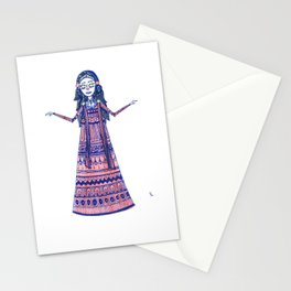 Queen Mira Stationery Cards