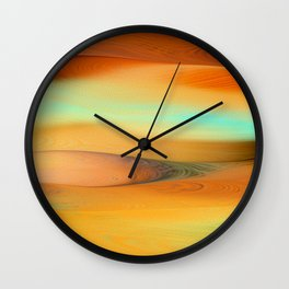 Dunes Collection - Gold Wall Clock
