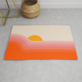 Strawberry Dipper Rug