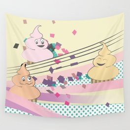 Cupcake Party! Wall Tapestry