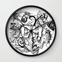 ohio Wall Clocks featuring Ohio. by Stefani Reeder