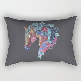 Horse Totem Rectangular Pillow
