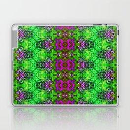 ZigZag Green Geodes Laptop & iPad Skin