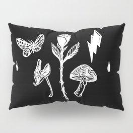 Icon Flora Black and White Pillow Sham