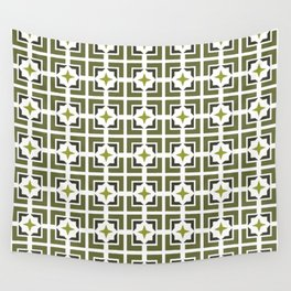 TRELLIS, OLIVE Wall Tapestry