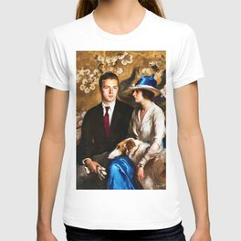Classical Masterpiece: Edmund, Mary, and Sergius by Edmund Tarbell T-shirt
