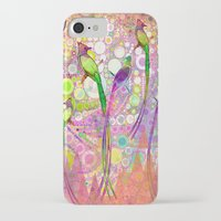 batik iPhone & iPod Cases featuring BATIK BIRDS by AlyZen Moonshadow