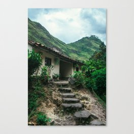 Mountain House (Colombia) Canvas Print