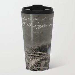 New Beginings~ nest Metal Travel Mug