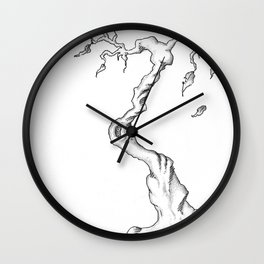 Floating Tree #1 Wall Clock