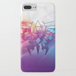 Zelda Triforce colorful Diamond iPhone Case