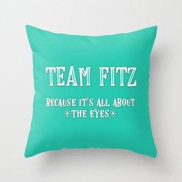 Team Fitz Throw Pillow