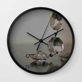 CLARITY IS KEY Wall Clock