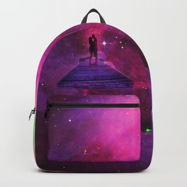 Kiss into the universe Backpack