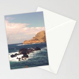 Sea Rocks In The Atlantic Ocean Stationery Cards