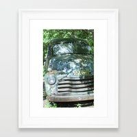 truck Framed Art Prints featuring Truck  by Clint Harris