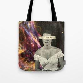 Delicate and Strange Tote Bag