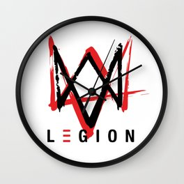 Watch Dogs Legion Iconic Logo Wall Clock