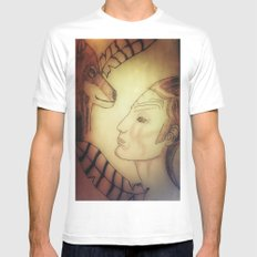 Accord Mens Fitted Tee White MEDIUM