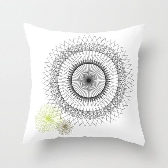 Modern Spiro Art #2 Throw Pillow