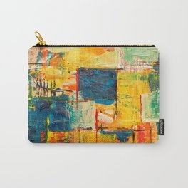 Multicolor Abstract Art Carry-All Pouch