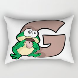 GAGGING Frog BDSM kinky naughty gift Rectangular Pillow