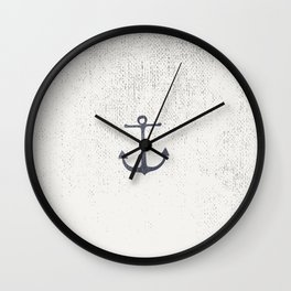 Anchor Wall Clock