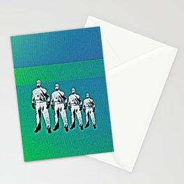 - man machine - Stationery Cards