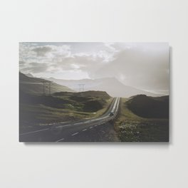 Road One Metal Print
