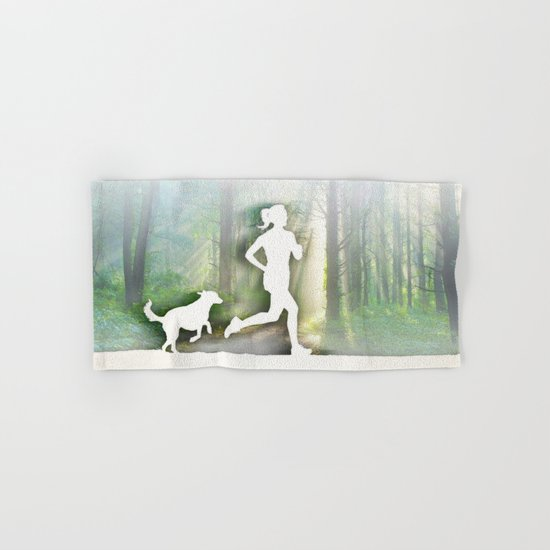 Forest Run Hand & Bath Towel