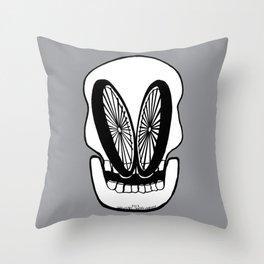 WHEELY EYED Throw Pillow