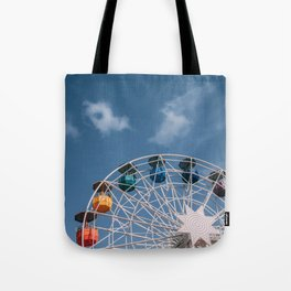 Colourful Ferry Wheel Tote Bag