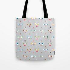 Cat Faces Tote Bag