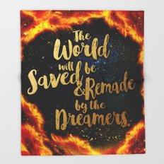 By the Dreamers Throw Blanket