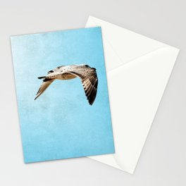 Bird in flight ;Into the Mystic Stationery Cards