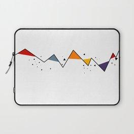 Geometric Mountains Laptop Sleeve