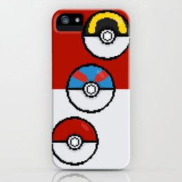 Poke Balls iPhone Case