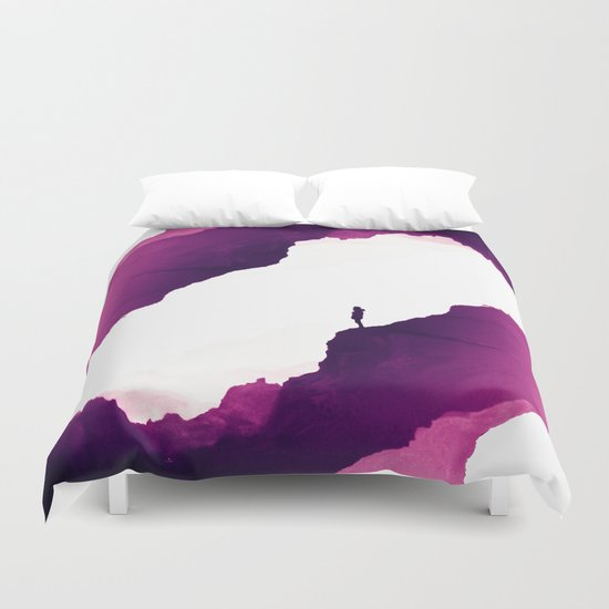 Purple Isolation Duvet Cover