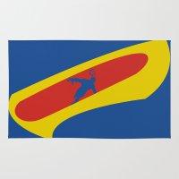 cyclops Area & Throw Rugs featuring Cyclops by Adam Grey