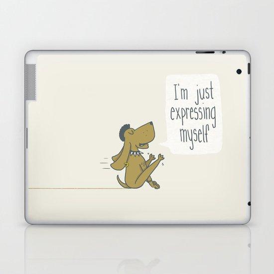 Dog Expression Laptop & iPad Skin