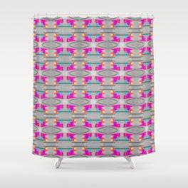 Irony - Pattern Shower Curtain