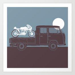 furgoncino Art Print