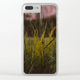 Yosemite Valley II Clear iPhone Case