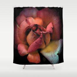 Rose éclose couette colors urban fashion culture Jacob's 1968 Paris Agency Shower Curtain
