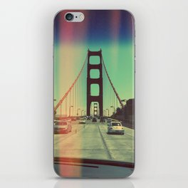 golden gate iPhone Skin