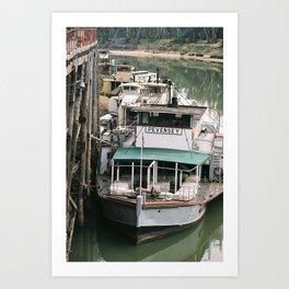 Pevensey Paddle Steamer Art Print