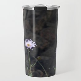 flowers by a stream Travel Mug
