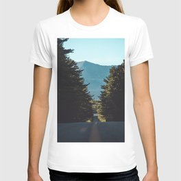 Mountain drives T-shirt