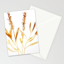 Lavender ( watercolor fill poster) Stationery Cards